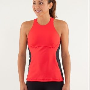❤️Lululemon Spin It To Win It Tank-Love Red❤️